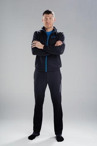 Nordski Zip Base костюм мужской black-blue
