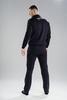 Nordski Zip Base костюм мужской black-blue - 2