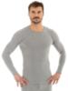 Термобелье мужское Brubeck Comfort Wool рубашка серая - 1