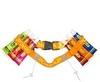 PowerUp набор пояс+6 гелей оранжевый - 1