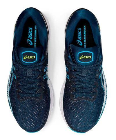 Asics Gel Kayano 27 беговые кроссовки мужские синие