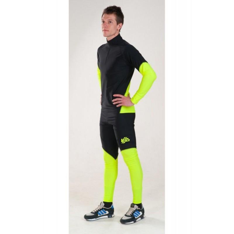 Vitzhen Racing гоночный костюм унисекс black-yellow