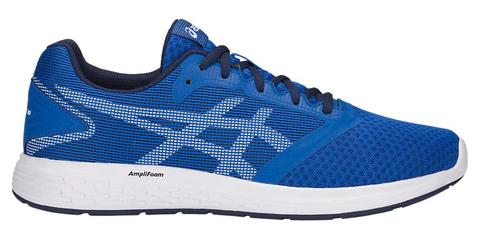 Asics Patriot 10 кроссовки для бега мужские синие-белые