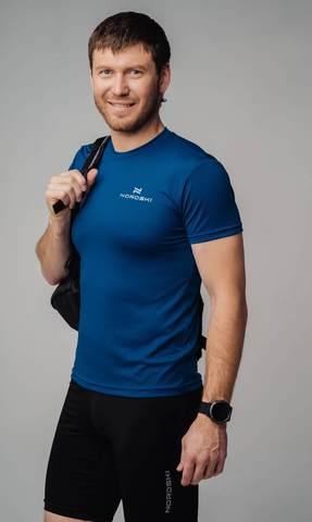 Nordski Active футболка мужская navy