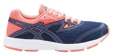 Asics Amplica Gs кроссовки для бега подростковые синие-коралловые