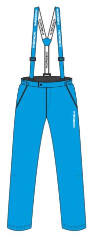 Nordski Montana Premium RUS утепленный лыжный костюм женский Red-blue