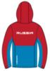 Nordski Montana Premium RUS утепленный лыжный костюм женский Red-blue - 3