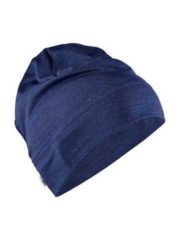 Craft Melange Jersey шапка темно-синяя