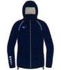 Mizuno Osaka Windbreaker куртка для бега мужская синяя - 1