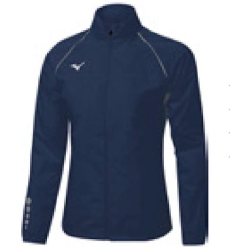 Mizuno Osaka Windbreaker куртка для бега мужская синяя