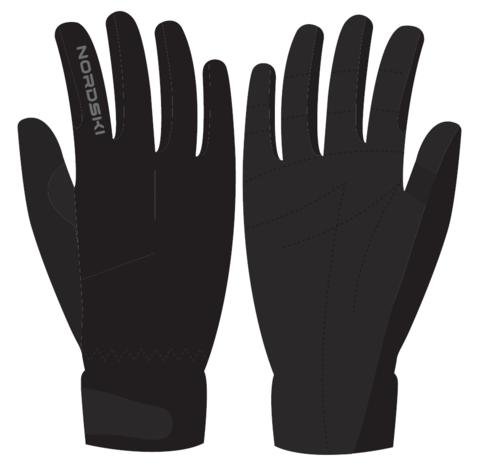 Nordski Jr Racing WS перчатки гоночные детские black