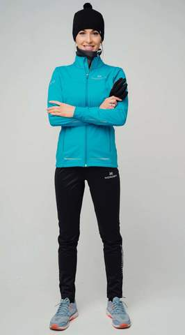 Nordski Pro разминочные лыжные брюки женские