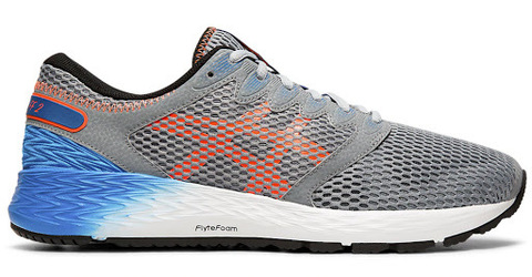 Asics Roadhawk Ff 2 кроссовки для бега мужские серые-синие
