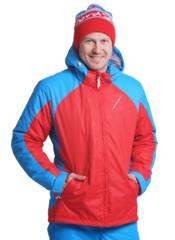 Nordski National 2020 прогулочная куртка мужская красная