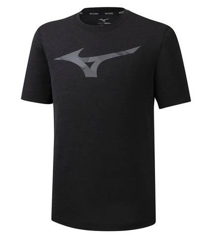 Mizuno Core Rb Graphic Tee беговая футболка мужская черная