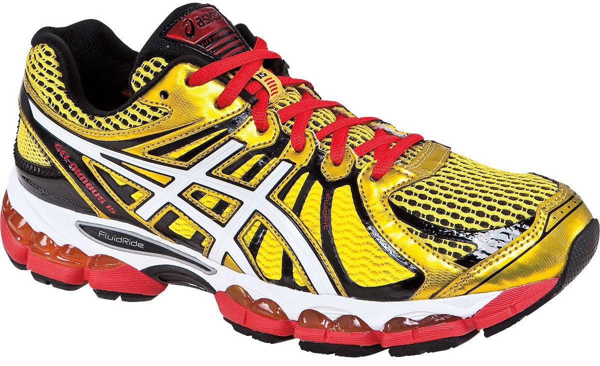 Кроссовки для бега Asics Gel-Nimbus 15 yellow мужские - 6