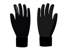 Nordski Arctic Jr детские лыжные перчатки черные