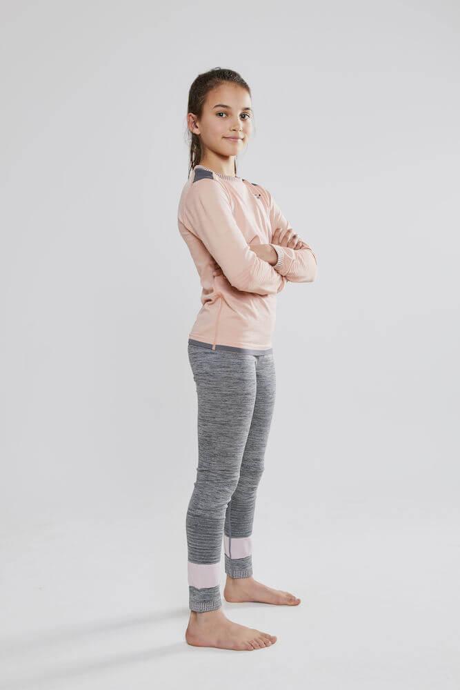 Craft Fuseknit Comfort детское термобелье рубашка - 5