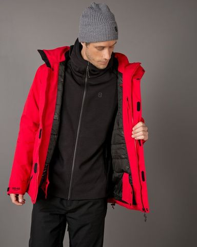 8848 Altitude Castor Wandeck горнолыжный костюм мужской red-black