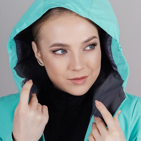 Утепленный лыжный костюм женский Nordski Base sky-deep teal