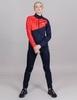 Nordski Premium лыжный костюм женский blueberry-red - 1