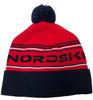 Nordski Stripe теплая шапка red - 1