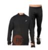 Asics Silver костюм для бега мужской черный - 1