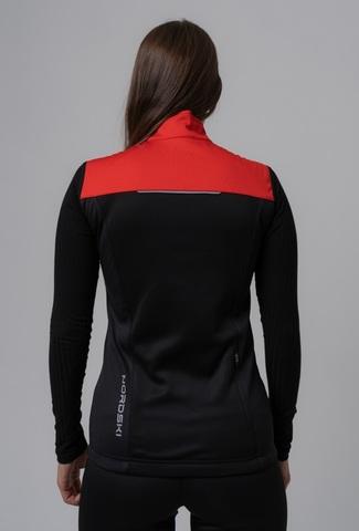 Nordski Active лыжный жилет женский red-black