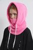 Балаклава флисовая Cool Zone светло-розовая - 2