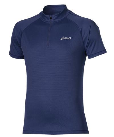 Asics SS 1/2 Zip Top Мужская футболка для бега