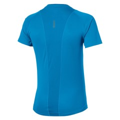 Asics Stride SS Top футболка для бега мужская голубая