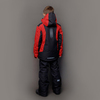 Nordski Jr Extreme горнолыжный костюм детский black-red - 2