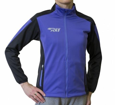 RAY Race WS женская лыжная куртка violet-black
