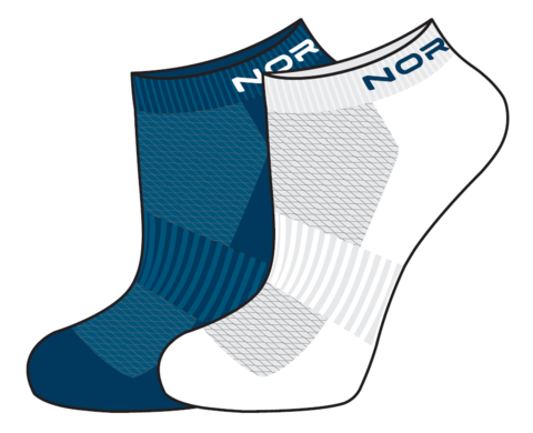 Nordski Run комплект спортивных носков seaport-white