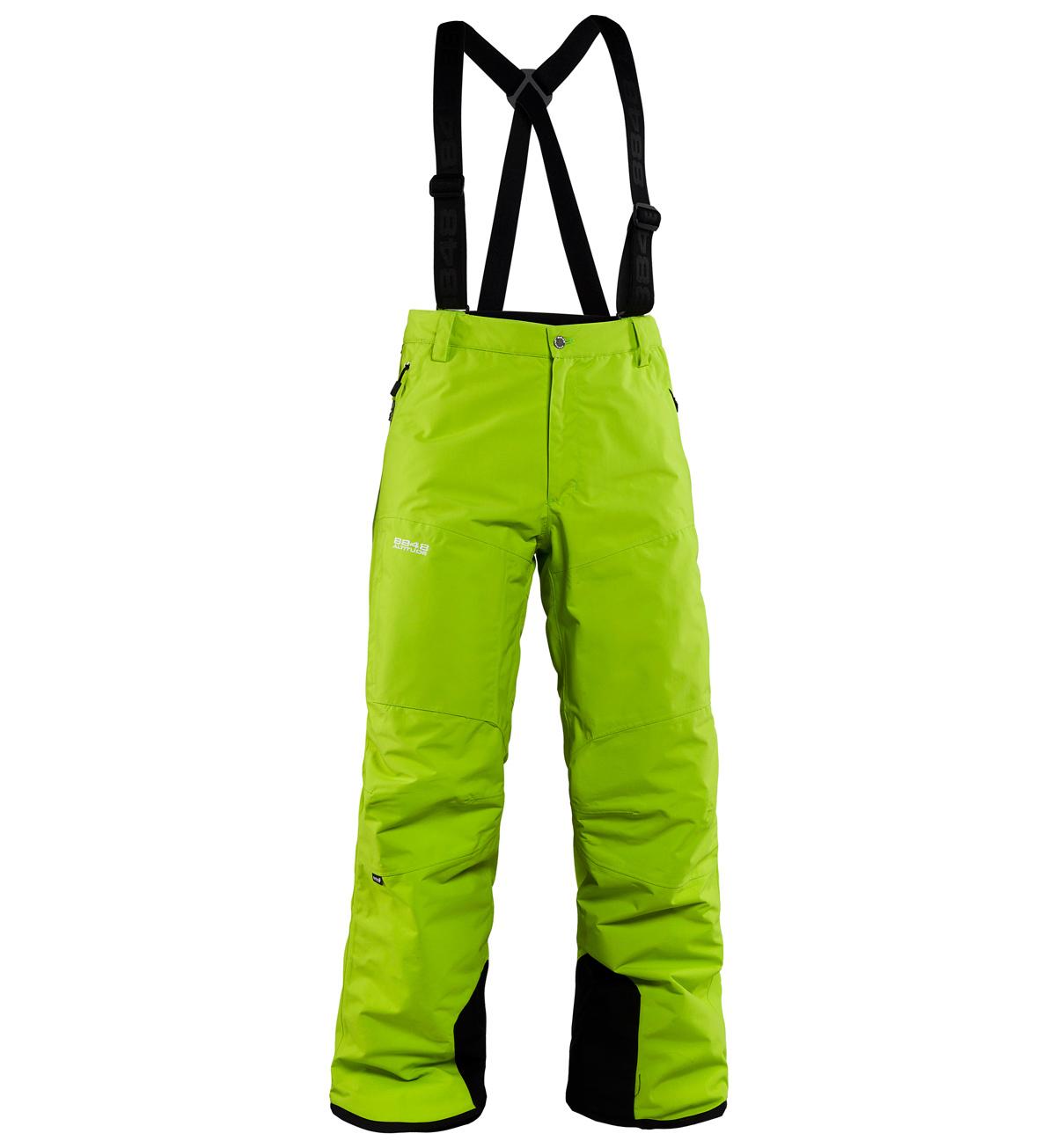 Брюки горнолыжные 8848 Altitude ZIG мужские Lime
