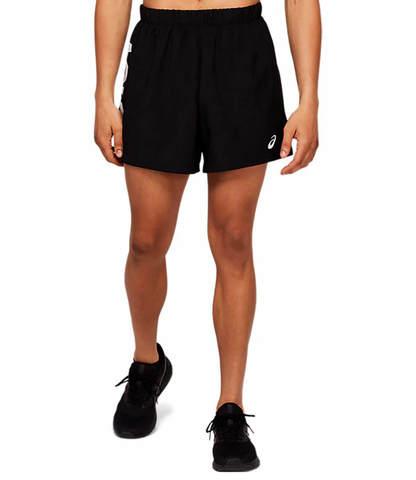 """Asics Katakana 5"""" Short шорты для бега мужские черные"""