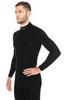 Термобелье Brubeck Wool Merino рубашка мужская черная - 3