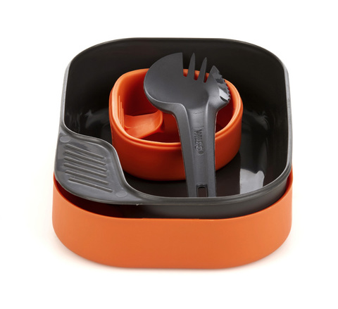 Wildo Camp-A-Box Light набор туристической посуды orange