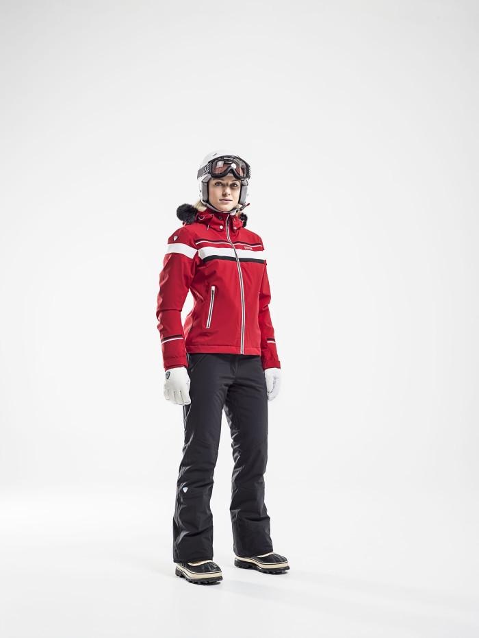 Горнолыжная куртка 8848 Altitude Carlin красная - 5