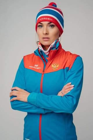 Nordski Pro RUS разминочная куртка женская