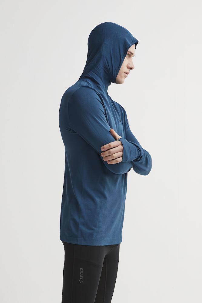 Craft Core Fuseknit рубашка беговая с капюшоном мужская - 5
