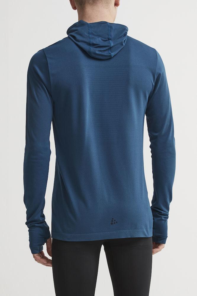 Craft Core Fuseknit рубашка беговая с капюшоном мужская - 3