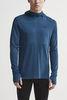 Craft Core Fuseknit рубашка беговая с капюшоном мужская - 2
