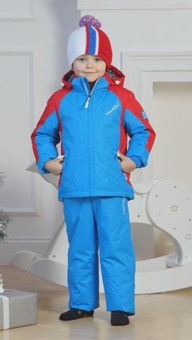 Nordski Kids National детский прогулочный костюм синий