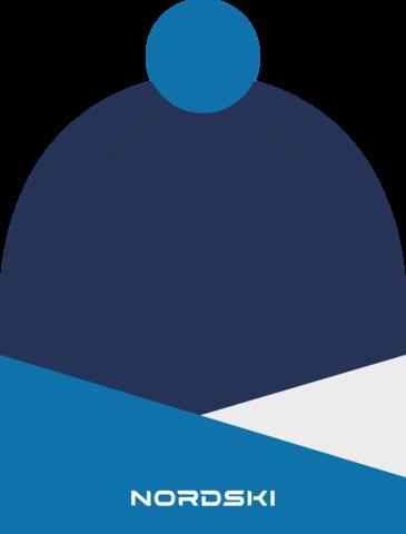 Nordski Line лыжная шапка blue