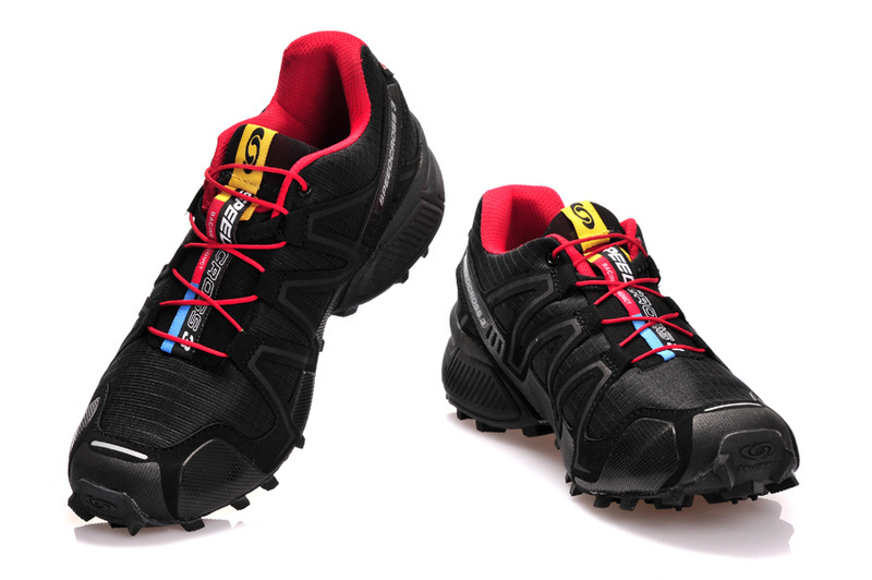 Кроссовки Salomon Speedcross 3 red - 2