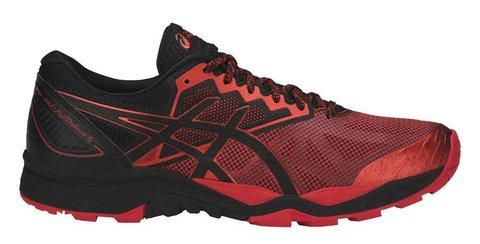 Asics Gel Fujitrabuco 6 кроссовки внедорожники мужские черные-красные