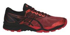Кроссовки внедорожники мужские Asics Gel Fujitrabuco 6 черные-красные