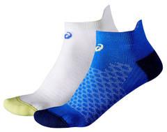 Беговые носки женские Asics 2ppk Sock белые-синие