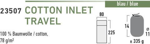 High Peak Cotton Inlett Travel вкладыш в спальный мешок